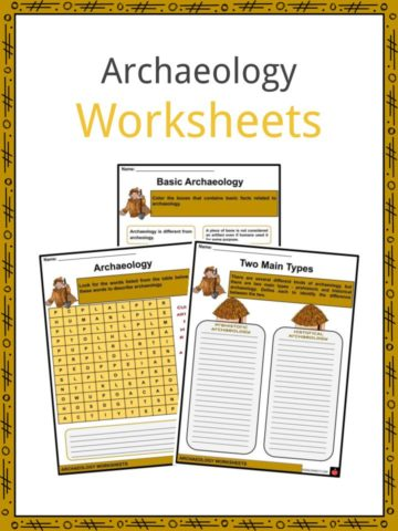 Archaeology Worksheets