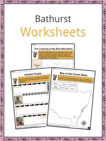 Bathurst Worksheets