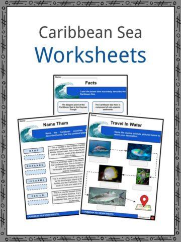 Caribbean Sea Worksheets