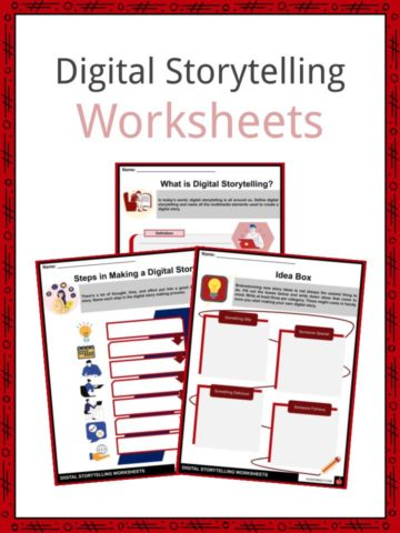 Digital Storytelling Worksheets