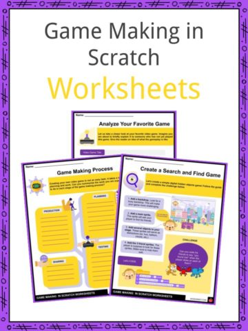 Game Making in Scratch Worksheets
