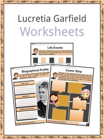 Lucretia Garfield Worksheets