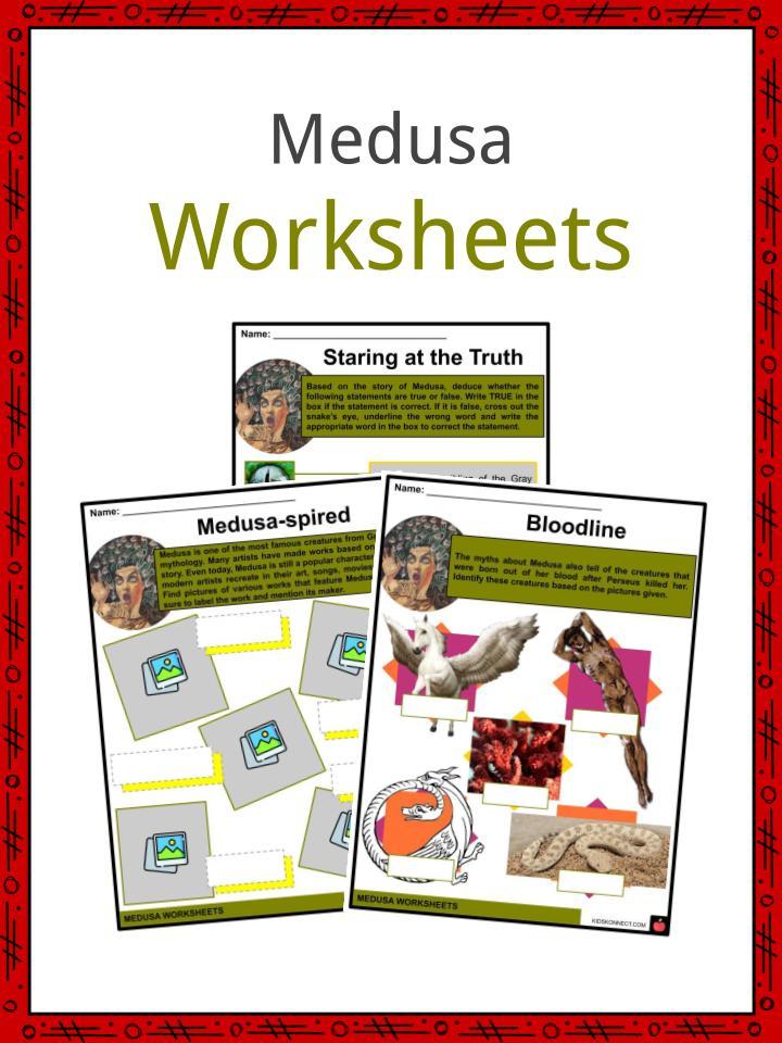 Medusa Worksheets