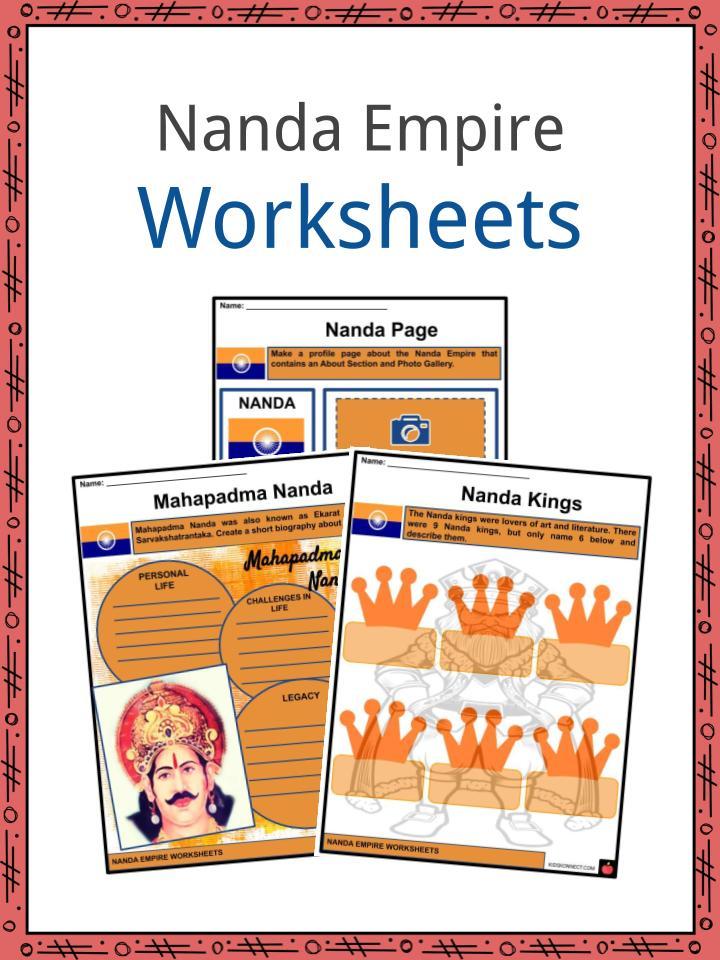Nanda Empire Worksheets