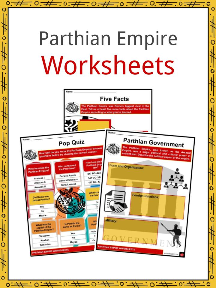Parthian Empire Worksheets