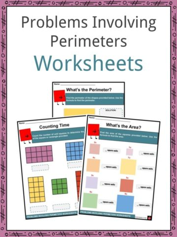 Problems Involving Perimeters Worksheets