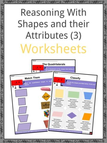 Reasoning With Shapes and their Attributes Worksheets