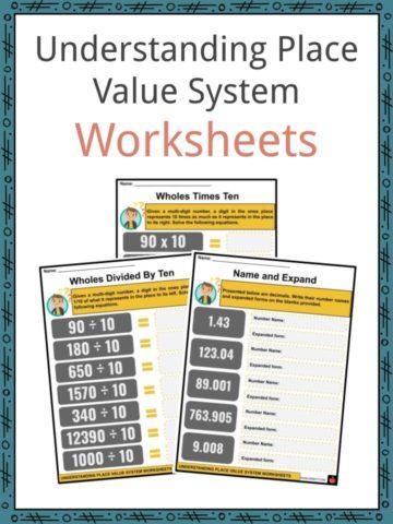 Understanding Place Value System Worksheets