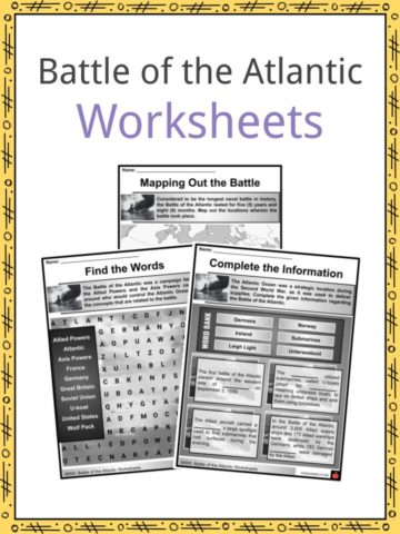 Battle of the Atlantic Worksheets
