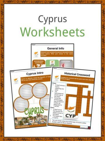 Cyprus Worksheets