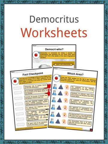 Democritus Worksheets