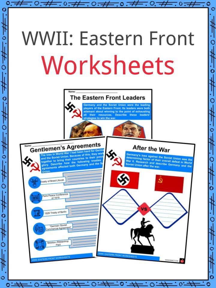 Eastern Front Worksheets