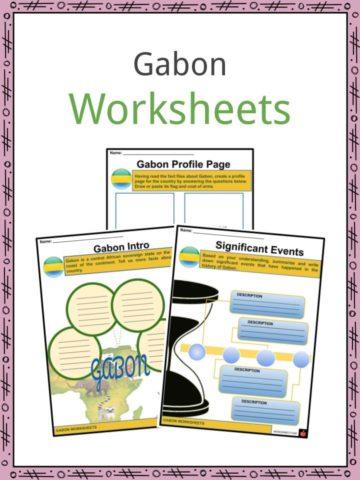Gabon Worksheets
