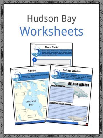Hudson Bay Worksheets