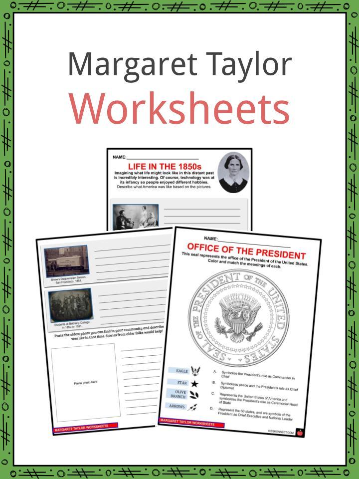 Margaret Taylor Worksheets