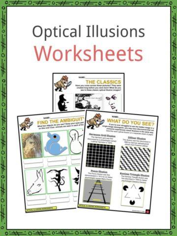 Optical Illusion Worksheets