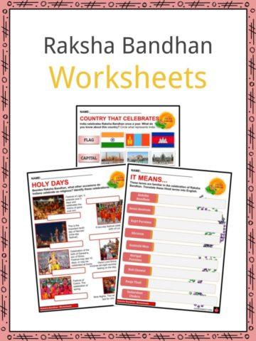 Raksha Bandhan Worksheets
