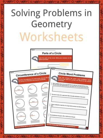 Solving Problems in Geometry Worksheets