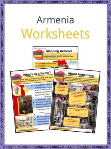Armenia Worksheets