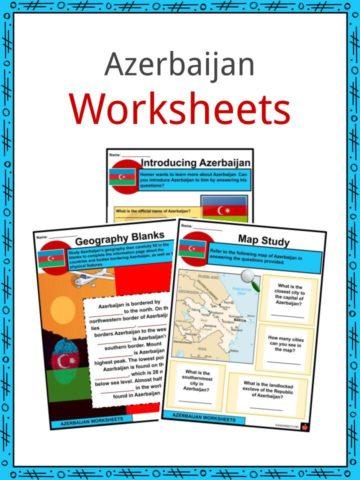 Azerbaijan Worksheets