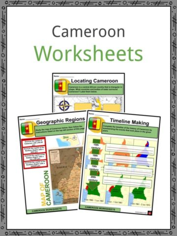 Cameroon Worksheets