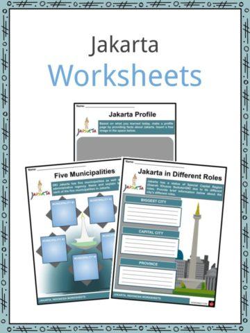 Jakarta Worksheets