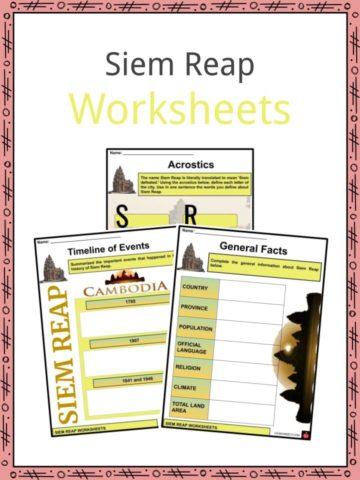 Siem Reap Worksheets