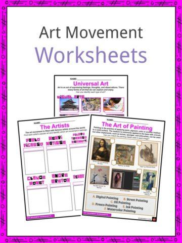 Art Movement Worksheets