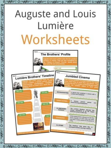 Auguste and Louis Lumière Worksheets