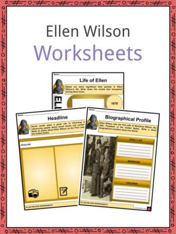 Ellen Wilson Worksheets