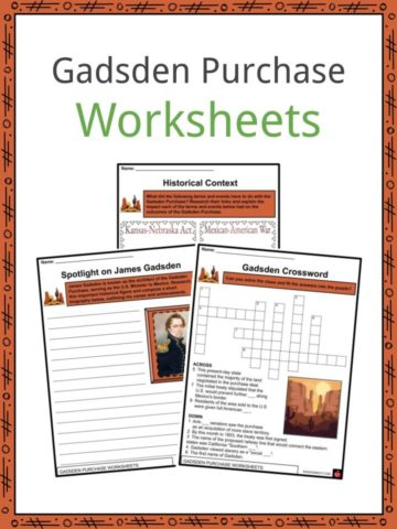 Gadsden Purchase Worksheets