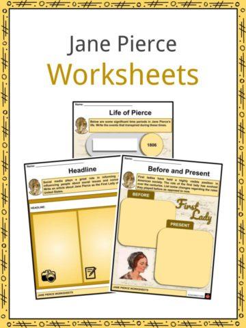 Jane Pierce Worksheets