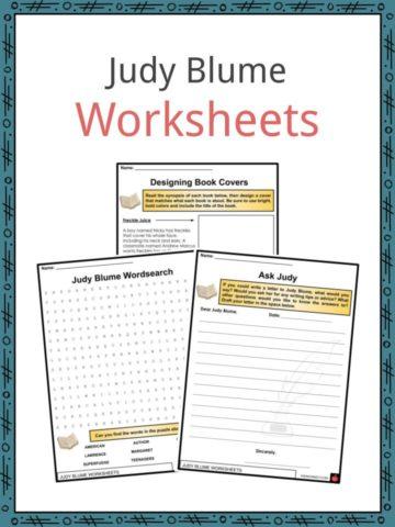 Judy Blume Worksheets
