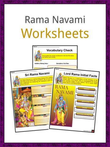 Rama Navami Worksheets