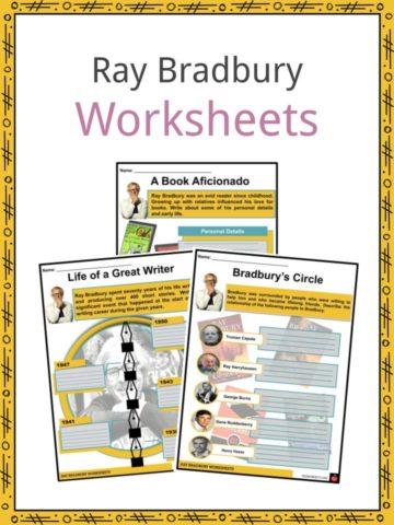 Ray Bradbury Worksheets