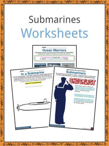 Submarines Worksheets