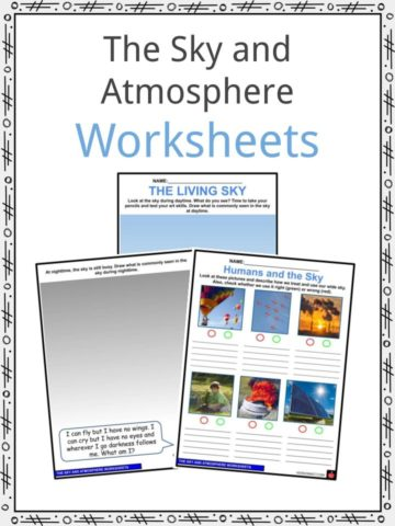 The Sky and Atmosphere Worksheets