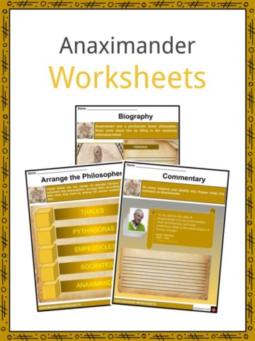 Anaximander Worksheets