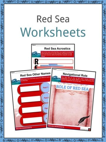 Red Sea Worksheets