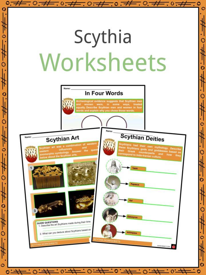 Scythia Worksheets