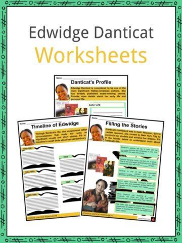 Edwidge Danticat Worksheets