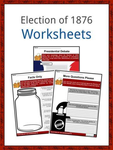 Election of 1876 Worksheets