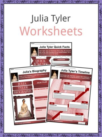 Julia Tyler Worksheets