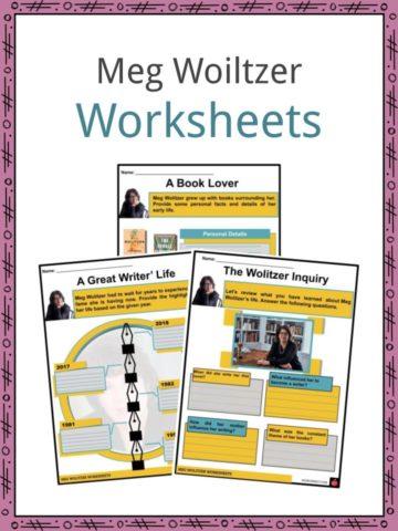 Meg Woiltzer Worksheets