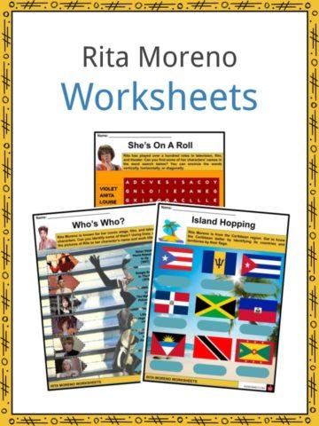 Rita Moreno Worksheets