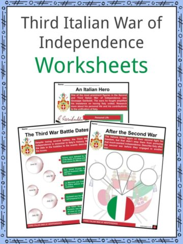 Third Italian War of Independence Worksheets