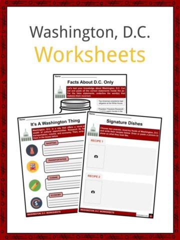 Washington, DC Worksheets