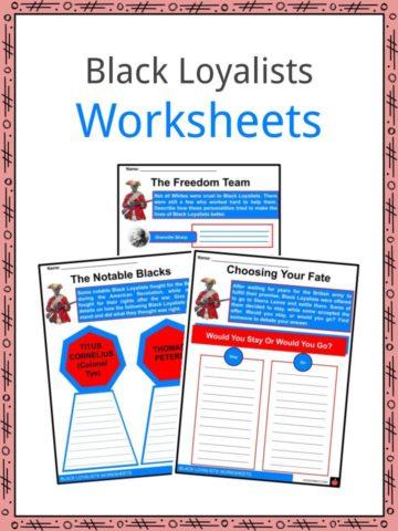 Black Loyalists Worksheets