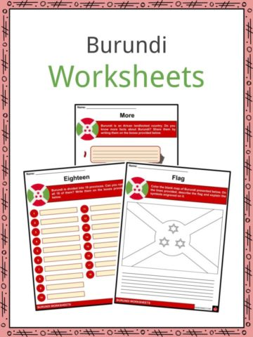 Burundi Worksheets