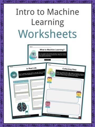 Intro to Machine Learning Worksheets